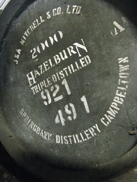 Springbank distillery - Hazelburn 2000 triple distilled