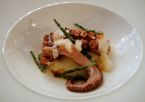 Octopus with Smoked Potato