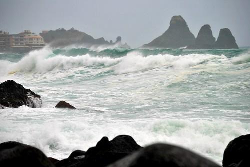 Sicilia nella morsa del maltempo. Disagi su tutta l'Isola$