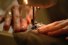 sewing, hand, art, finger, design, close-up,