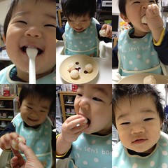 朝御飯とらちゃん(2012/3/14)