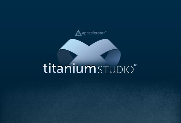 Titanium Studio 的啟始畫面