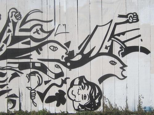 Social Political Mural