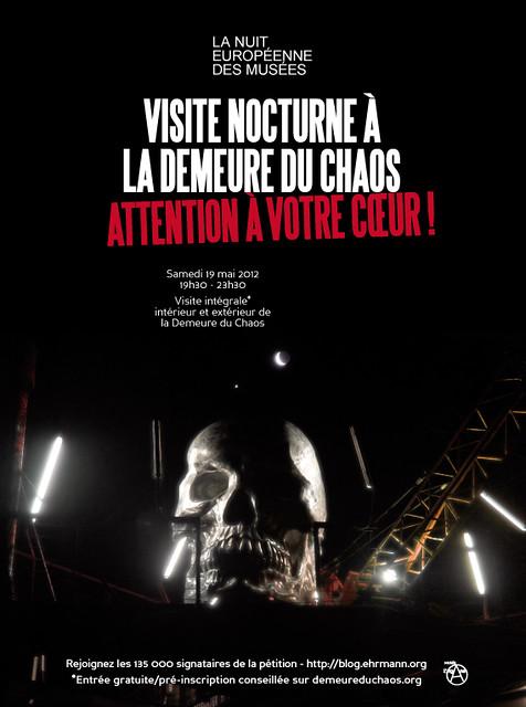 Affiche Nuit des Musée