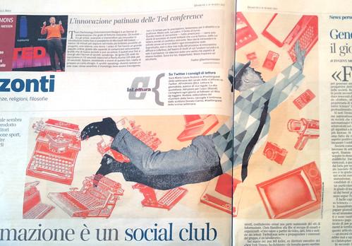 """Su """"La lettura"""" del Corriere della Sera by la casa a pois"""