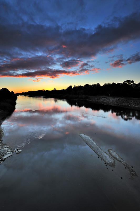 Sunset From Fitzherbert Bridge