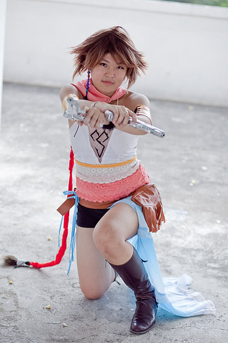 SasuSaku-4ever cosplays Yuna
