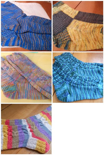 FO Friday Sockarama by Paula knits
