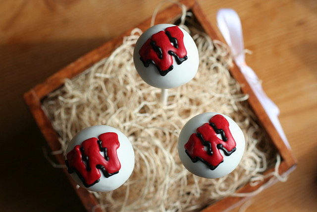 University of Wisconsin Cake Pops
