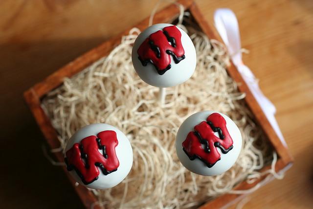 University of Wisconsin Cake Pops