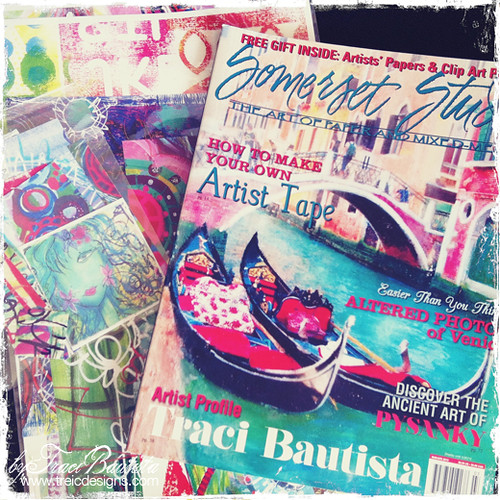 mixed media giveaway by traci bautista5