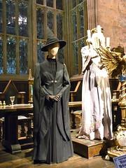 Harry Potter studio tour: Professor McGonagall costume