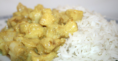 29 - Madras Fisch-Curry / Madras fish curry - CloseUp