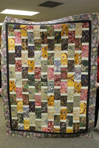 Brick and Mortar Quilt by Cathy Gordon