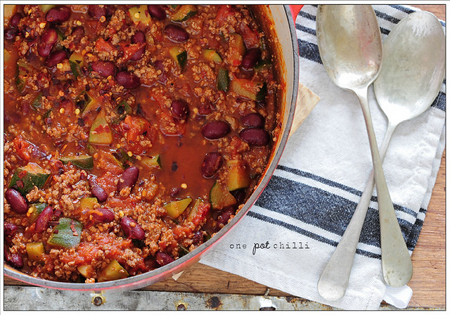 17. one pot chilli