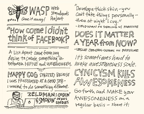 SXSW 2012 Sketchnotes: 19-20 Go Forth and Make Awesomeness!