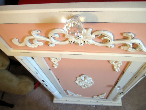 Up-Cycled Frou Frou Cabinet! 5