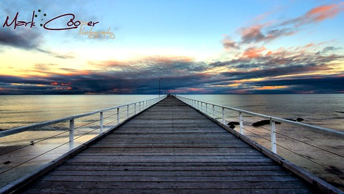water sunrise canon jetty south australia adelaide hdr semaphore efs1022mm 550d t2i eos550d markcooperphotography