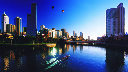 Melbourne by Tourism Victoria