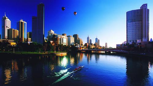 Melbourne by Tourism Victoria