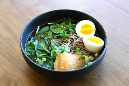 Dishing Up Delights: Soba Noodle Soup with Smoked Trout ...