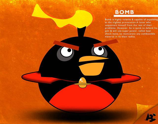 bomb angry birds space flickr photo sharing. Black Bedroom Furniture Sets. Home Design Ideas