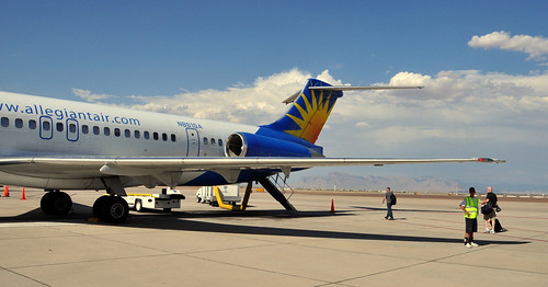 Allegiant Air at Phoenix Mesa Gateway Airport