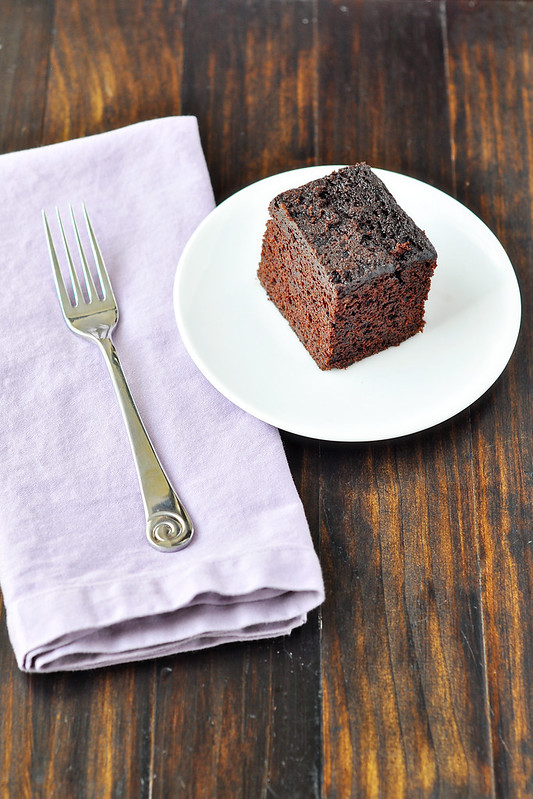 Coffee-Cocoa Snack Cake