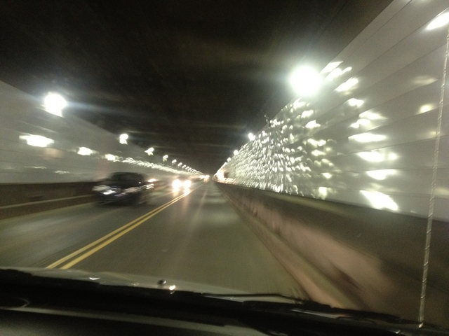 Tunnel to Canda from the U.S.
