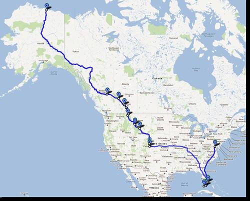 Route to Alaska 2012