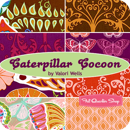 Caterpillar Cocoon Fat Quarter Bundle Valori Wells for Free Spirit Fabrics -- Friday's Giveaway!!