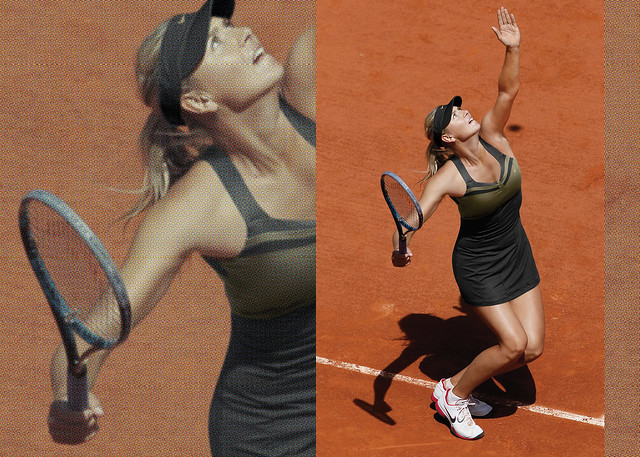 2012 French Open Maria Sharapova Nike outfit