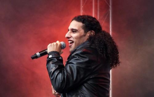 Ali B tijdens Bevrijdingsfestival