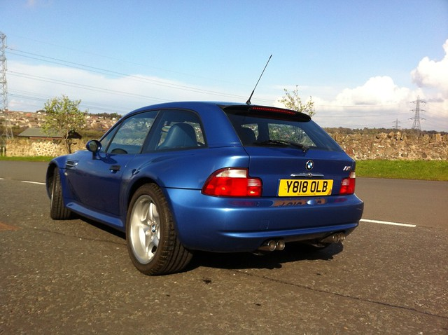2000 M Coupe | Estoril Blue | Estoril/Black