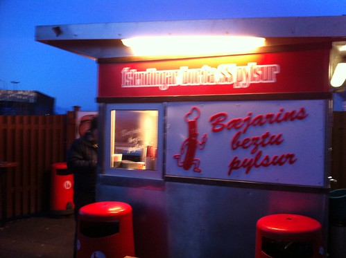 Iceland's best hot dog