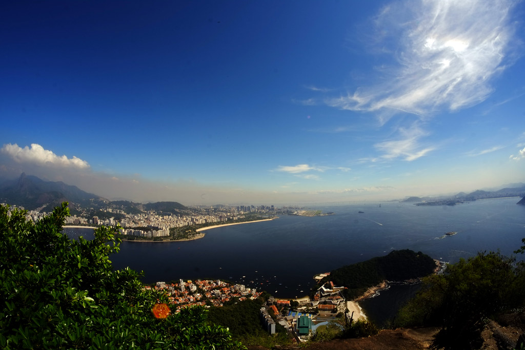 Breathtaking view of Rio