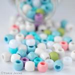 pastel pony beads