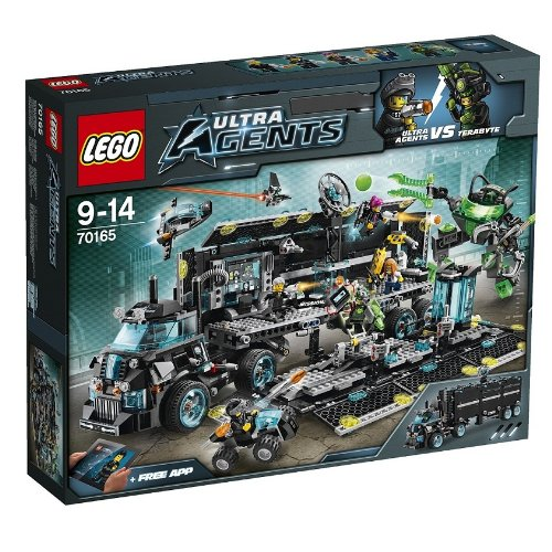 LEGO Ultra Agents 70165 Front