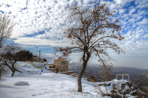 trees winter sky lebanon cliff cloud house snow detail tree home beautiful clouds landscape jack photography high amazing dynamic cloudy picture pic photograph walkway valley wonderland range arz lebanese wadi hdr cedars ariz altocumulus nour kadisha ouadi seikaly jrseikaly