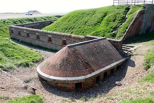 Image of Shoreham Fort near The Duke of Wellington Shoreham. sussex shoreham caponier shorehamfort