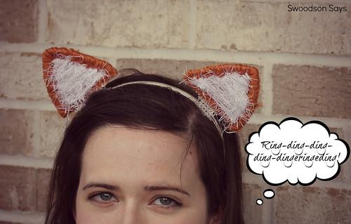 Fox Ears Headband - Swoodson Says