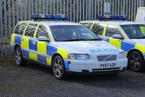 Cumbria Police Volvo V70 T5 TPAC Training Car