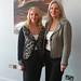 Romanian Ambassador to Ireland Manuela Breazu and Elena Secas