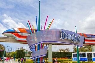 Main entrance to Disneyland Resort