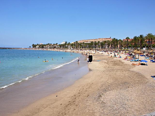 Playa El Camison, Playa de las Americas, Tenerife
