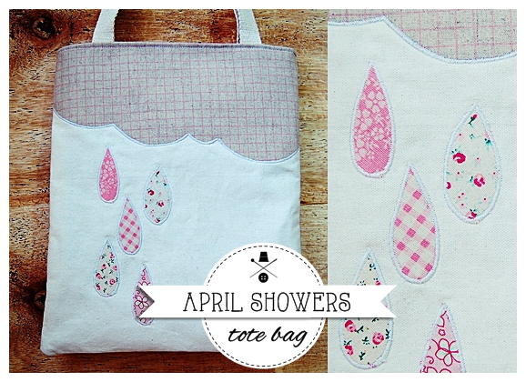 april showers tote 12