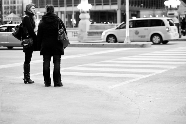 259/365 - Wacker Crosswalk