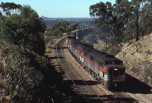 train diesel transport engine rail railway australia anr an transportation adelaide locomotive southaustralia alco australiannational sleepshill rpausa930class rpausa930class940
