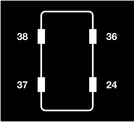 Simple tire pressure display
