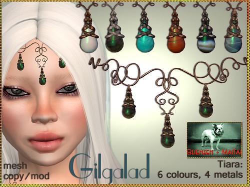 Bliensen + MaiTai - Gilgalad - Tiara- 6 colours Kopie